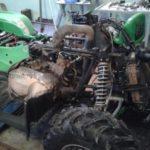 Демонтаж пластика ATV