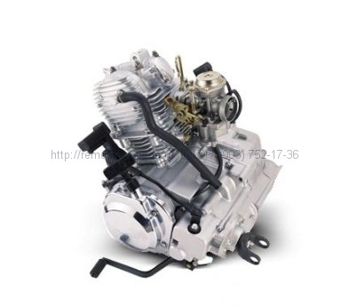 Двигатель в сборе Jianshe-Yamaha ATV 250 (Puma, Wildcat, Lokker)