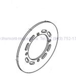 Тормозной диск передний SAGITTA ORSO 200