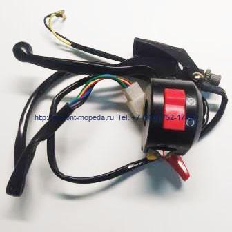 Блок переключатель с ручкой тормоза ATV 50-110