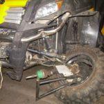 Восстановление квадроцикла после ДТП