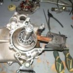Ремонт двигателя Dinli 110