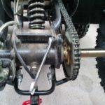 Регулировка цепи на ATV Irbis 150