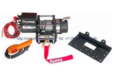 Электролебёдка Runva 4500