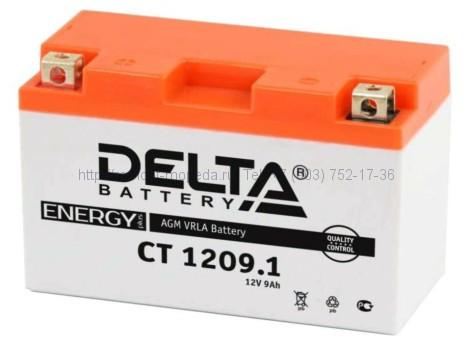 Аккумулятор Delta CT 1209.1