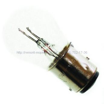 Лампа 12V21/5W (с цоколем, габариты, стоп-сигнал)